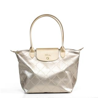 Longchamp LM Metal Medium Shoulder Tote