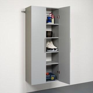 Stone Grey 30-inch Large Storage Cabinet