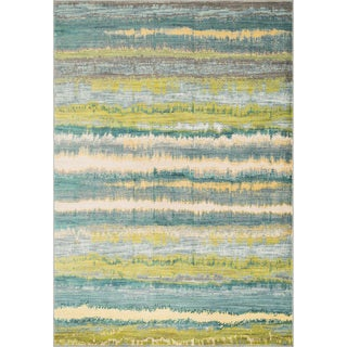 Laurent Teal/ Multi Rug (2'0 x 3'0)