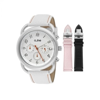 A Line Women's Maya Interchangeable Strap Set Watch