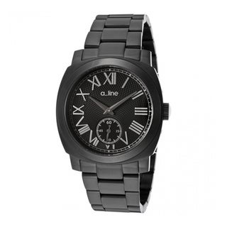 A Line Women's Pyar Black Stainless Steel Watch AL-80016-BB-11
