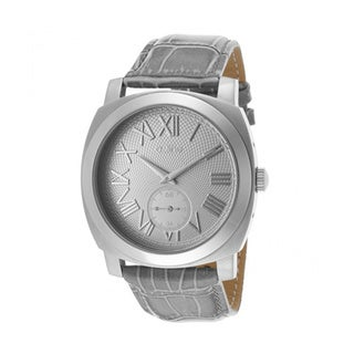 A Line Women's Pyar Grey Leather Watch AL-80023-014-GR