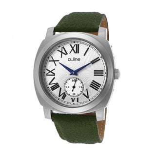 A Line Women's Pyar Green Strap Watch AL-80023-02-D-GN