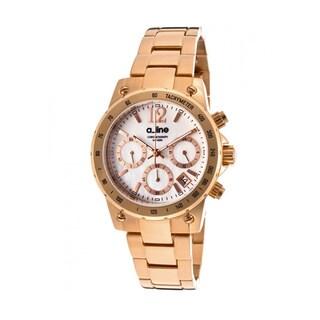 A Line Women's Liebe Rosetone Watch AL-80020-RG-22MOP