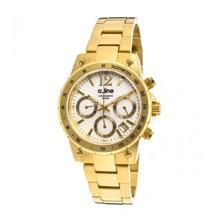 A Line Women's Liebe Goldtone Watch AL-80020-YG-22MOP