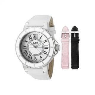 A Line Women's Marina Interchangeable Strap Set Watch AL-20010-SSET