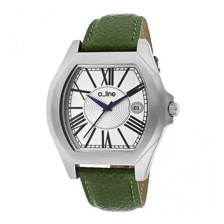A Line Women's Adore Green Leather Watch AL-80008-02-D-GN
