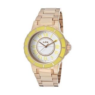 A Line Women's Marina Rosetone Watch AL-80009-RG-02YL
