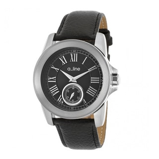 A Line Women's Amare Black Leather Watch AL-80022-01