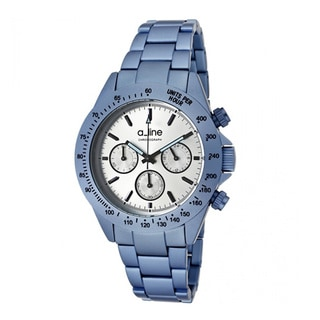 A Line Women's Amore Blue Stainless Steel Watch AL-20050-LBU-SL