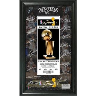 San Antonio Spurs 2014 NBA Finals Signature Ticket