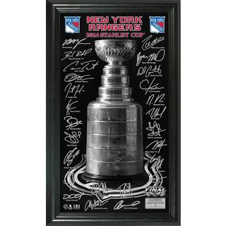 New York Rangers 2014 NHL Stanley Cup Final Signature Panoramic Photo