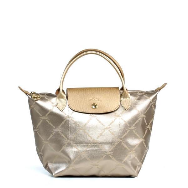 Longchamp LM Metal Small Handbag
