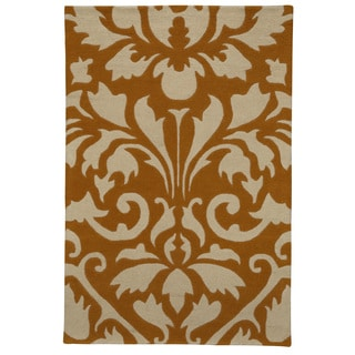 Christopher Knight Home Modern Highlights Two Tone Damask Area Rug (4' x 6')