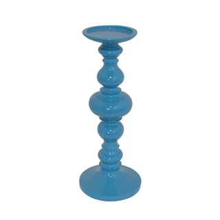 Blue Large Resin Candle Holder