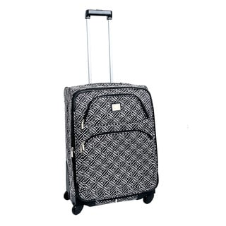 Anne Klein Going Places 24-inch Medium Expandable Spinner Upright Suitcase