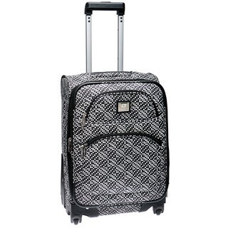 Anne Klein Going Places 20-inch Expandable Carry On Spinner Upright Suitcase
