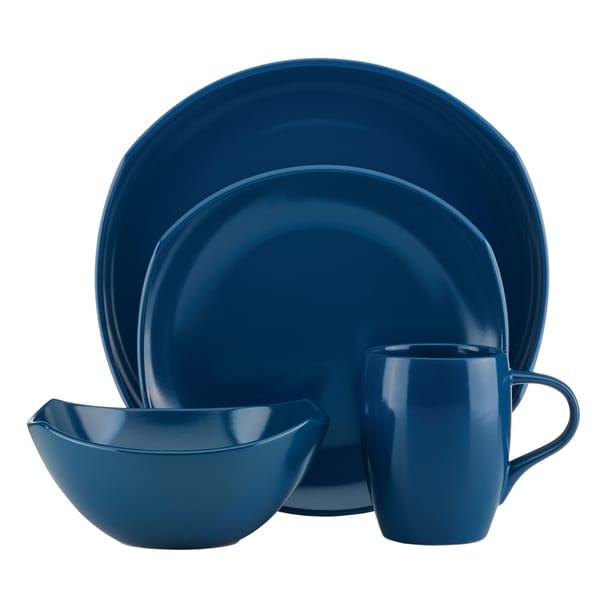 Dansk Classic Fjord Nordic Blue 16-piece Dinnerware Set