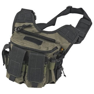 US Peacekeeper OD Green/ Black Rapid Deployment Pack