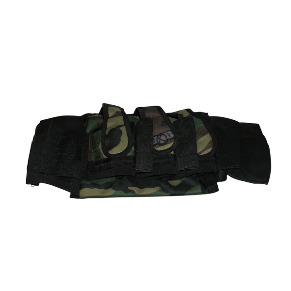 Woodsball Rec 3+4 Paintball Slam Harness Ball Hauler Camo Pack