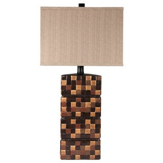 Signature Designs by Ashley Helki Ceramic Table Lamp (Set of 2)