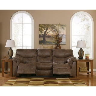 Signature Design by Ashley Alzena Gunsmoke Reclining Sofa