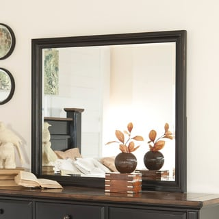 Signature Design by Ashley Breen Black Bedroom Mirror