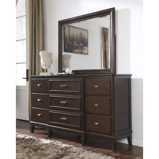 Signature Design by Ashley Larimer Brown Dresser