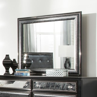 Signature Design by Ashley Alamadyre Black Bedroom Mirror