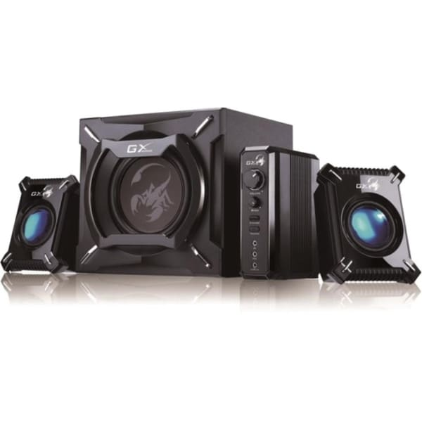 Genius GX Gaming SW-G2.1 2000 2.1 Speaker System - 45 W RMS - Black