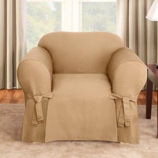 Sure Fit Logan Camel Chair Slipcover