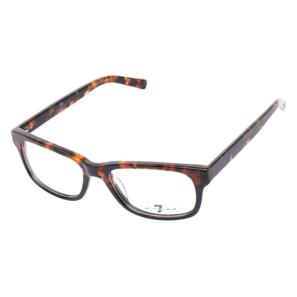7 For All Mankind 754 Tortoise Black Prescription Eyeglasses