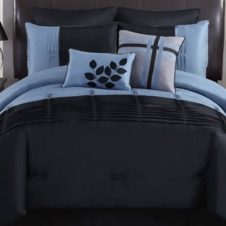 Kensington 8-peice Colorblock Comforter Set