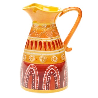 Certified International Ceramic Tapas Pitcher