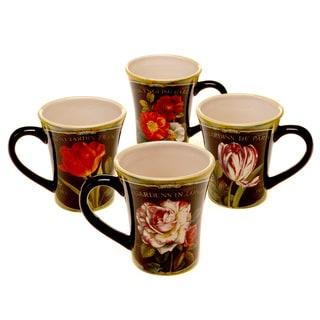 Certified International Garden View Mug (Set of 4)