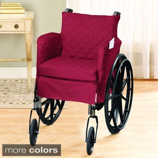 Twill Supreme 18x18-inch Tufted Standard Wheelchair Slipcover