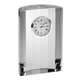 Half Moon Optical Glass Clock