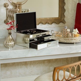 Heritage Mirrored Jewelry Box