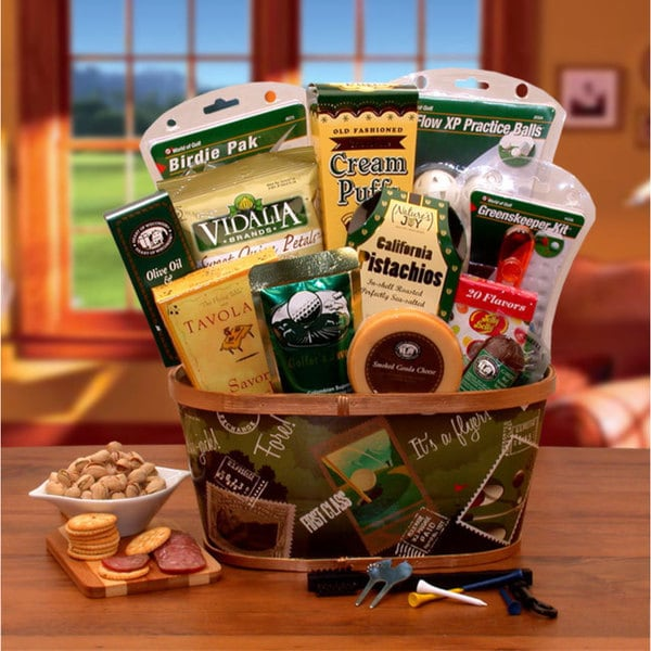 A Hole In One Golf Gift Basket