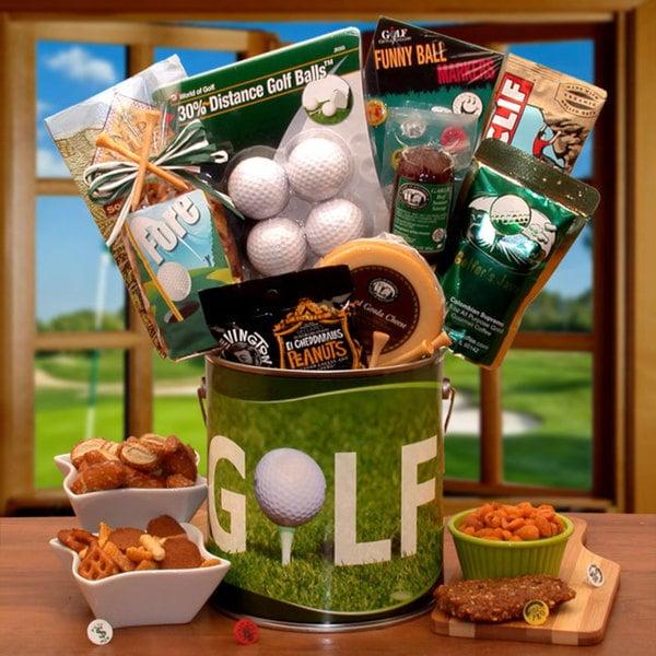 Fore! Golf Fanatics Golf Gift Pail