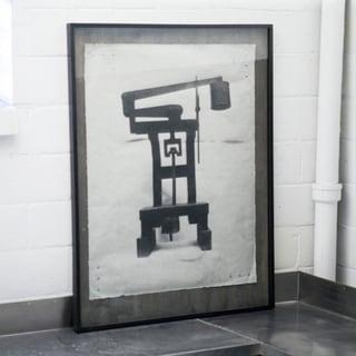 Phylum Design 'Mechanical Scale' Framed Art Print