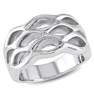M by Miadora Stainless Steel Ring