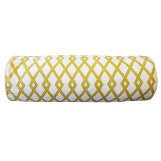 Moderna Gold Geometric 7x21-inch Pillow