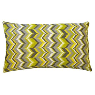 Cupcake Yellow Zig-Zag 12x20-inch Pillow