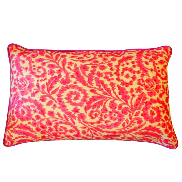 Amigo Pink Floral 12x20-inch Pillow