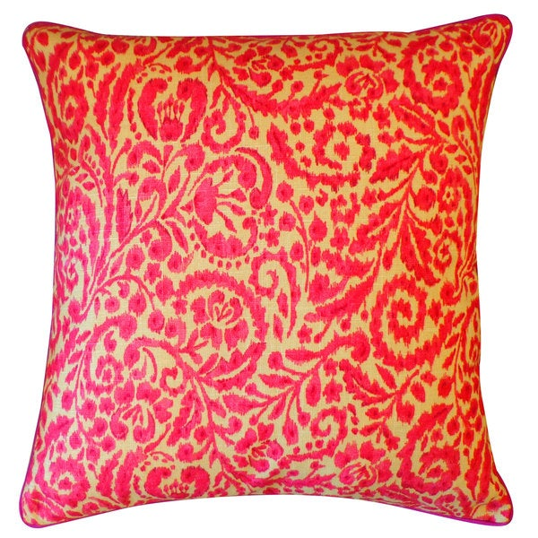 Amigo Pink Floral 20x20-inch Pillow
