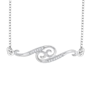 Sterling Silver Zodiac Collection Diamond Accent Necklace