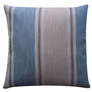 Guadeloupe Blue Stripe 20x20-inch Pillow