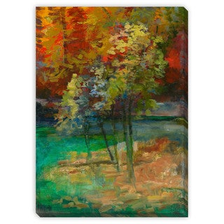 Sylvia Angeli's 'Running Water' Canvas Gallery Wrap