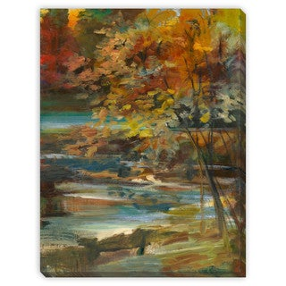 Sylvia Angeli's 'Twilight' Canvas Gallery Wrap
